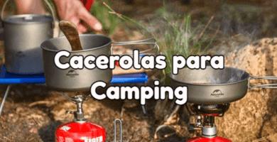 utensilios cocina camping