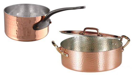 sartenes de cobre artesanales